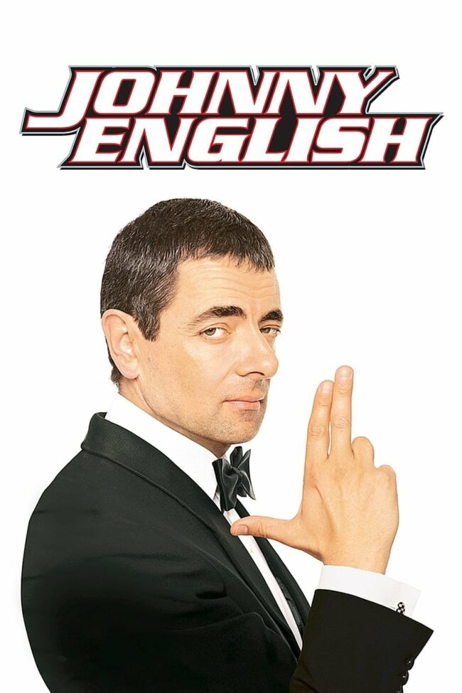 "Poster for the movie ""Johnny English"""
