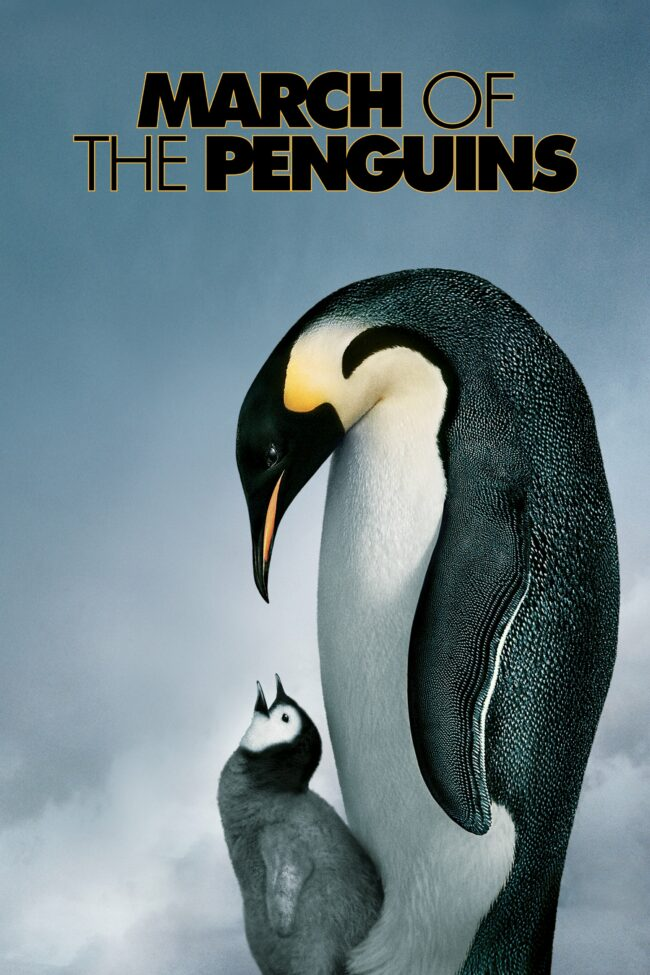 """Poster for the movie """"March of the Penguins"""""""