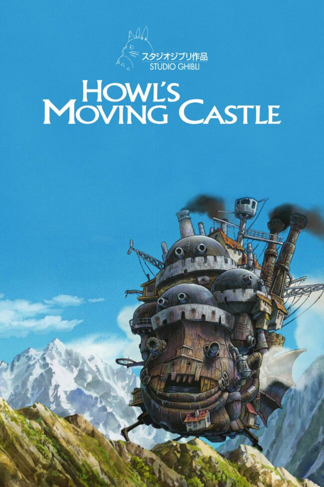 """Poster for the movie """"Howl's Moving Castle"""""""