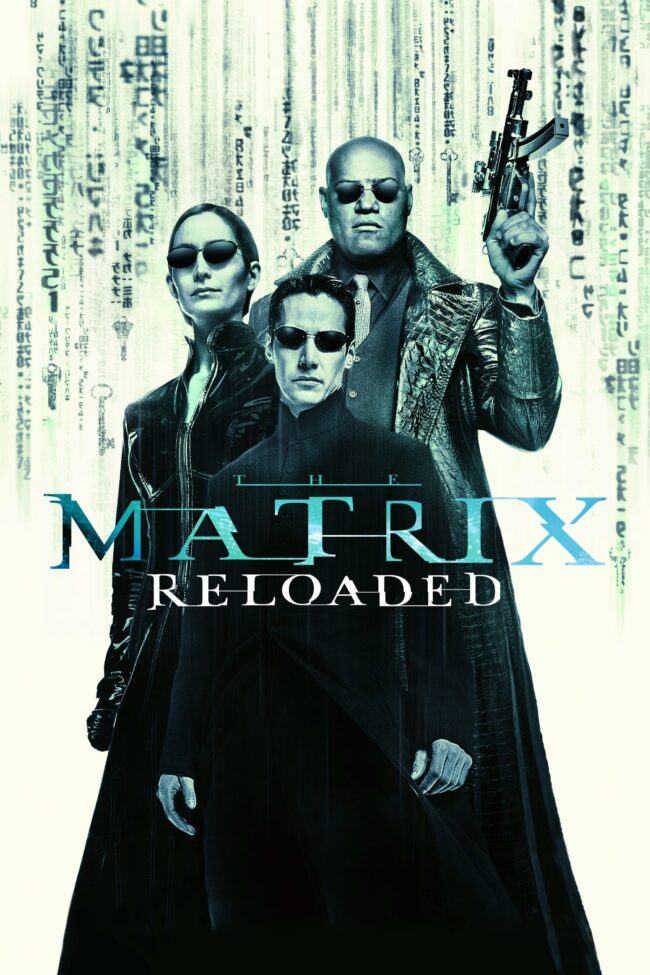 "Poster for the movie ""The Matrix Reloaded"""
