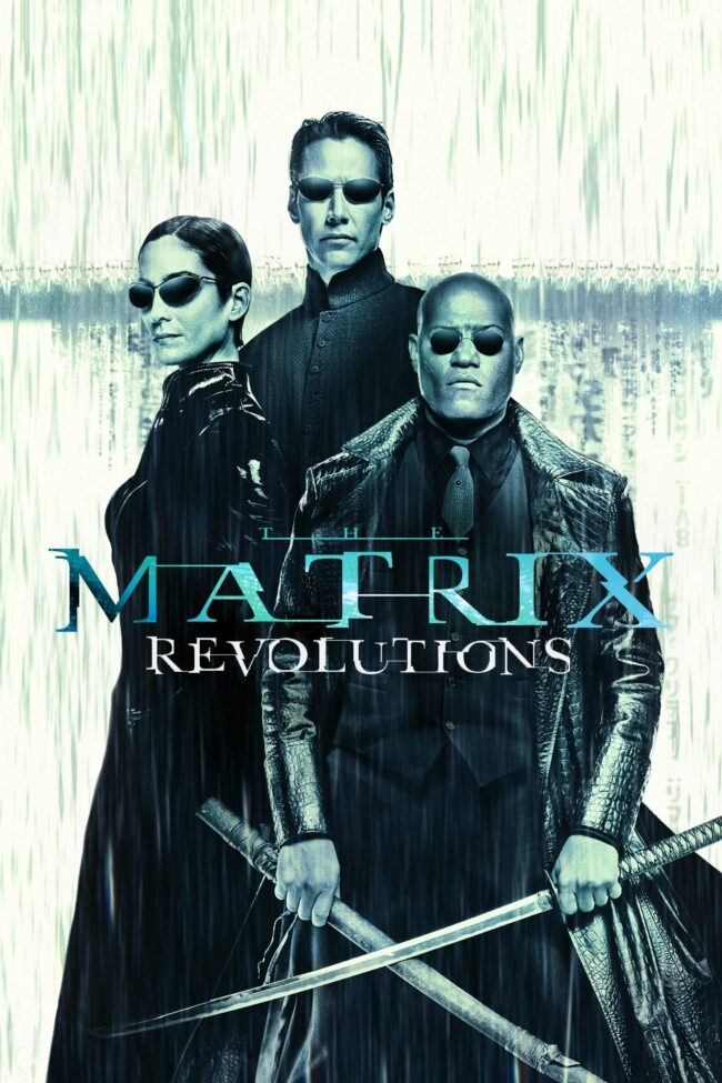 "Poster for the movie ""The Matrix Revolutions"""