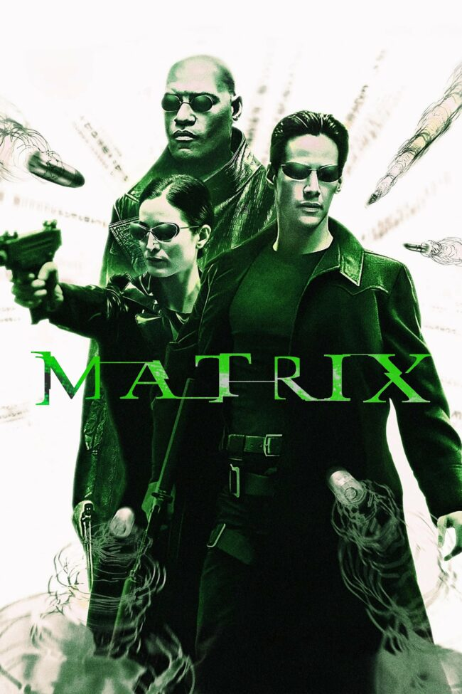 "Poster for the movie ""The Matrix"""