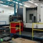 Twin horizontal CNC machines