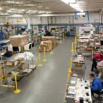 Inside of a new product development facility in a contract manufacturing plant