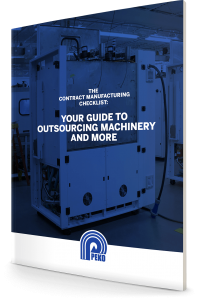 The Contract Manufacturing Checklist: Your Guide to Outsourcing Machinery and More by PEKO Precision Products, Inc.