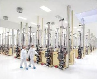 Equipment manufacturing facility tour