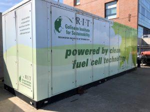renewable energy hydrogen fuel cell power generator prototype