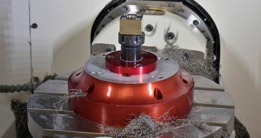 Finishing of CNC machining processes for a large mechanical sub-assembly