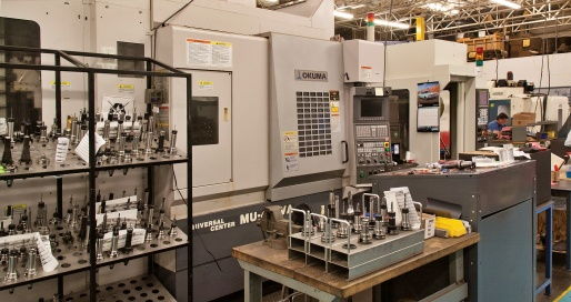 Advanced CNC Machinery and Workholding Tools
