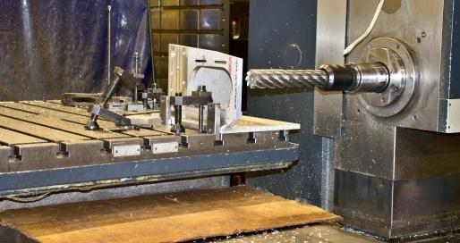 CNC Bore Milling Machine Up Close