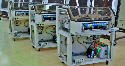Contract manufacturing finished equipment builds
