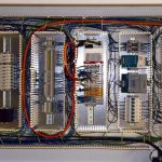 electrical back panel