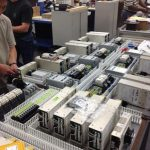 production run of electrical panels