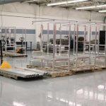 specially configured welding area