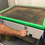 metal silk screen UV exposure unit