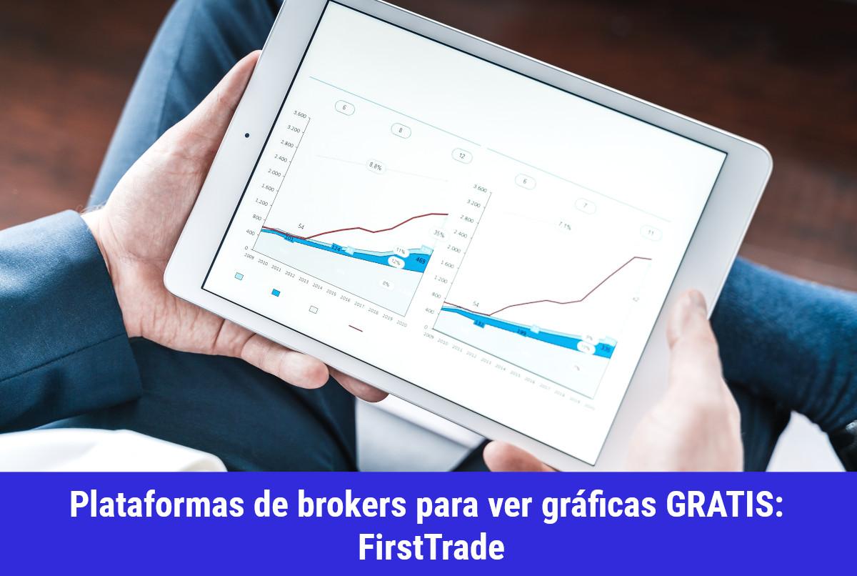 Plataformas de brokers con Gráficas Gratis: FirsTrade + TradingView