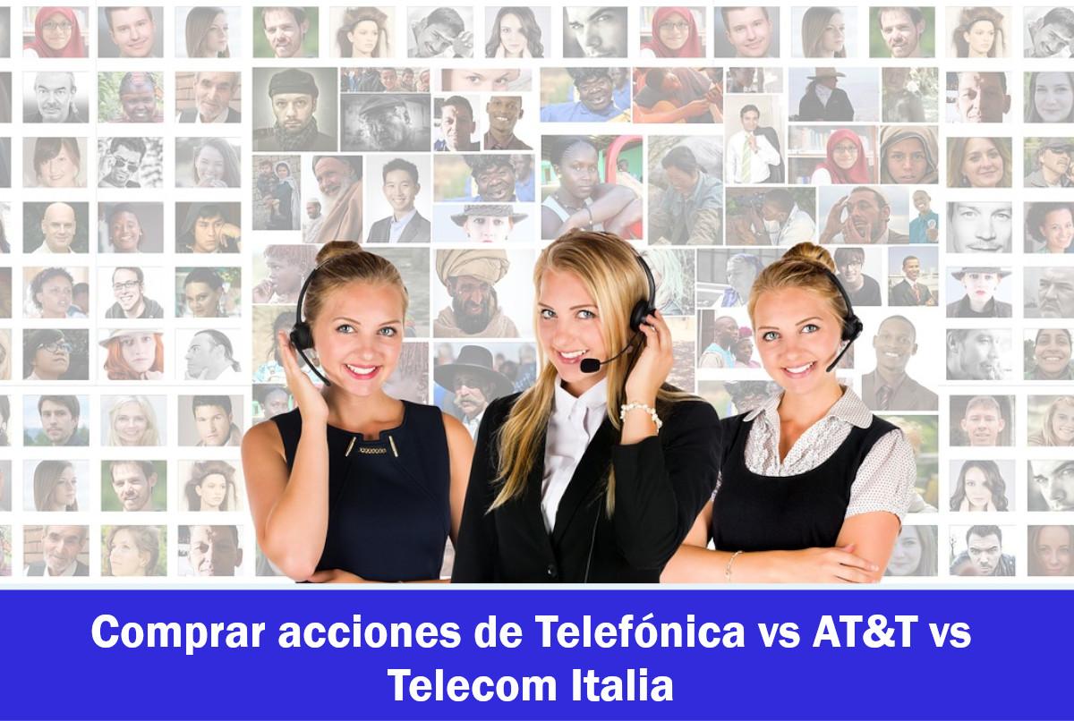 Comprar acciones de Empresas Telecomunicaciones: USA y Europa