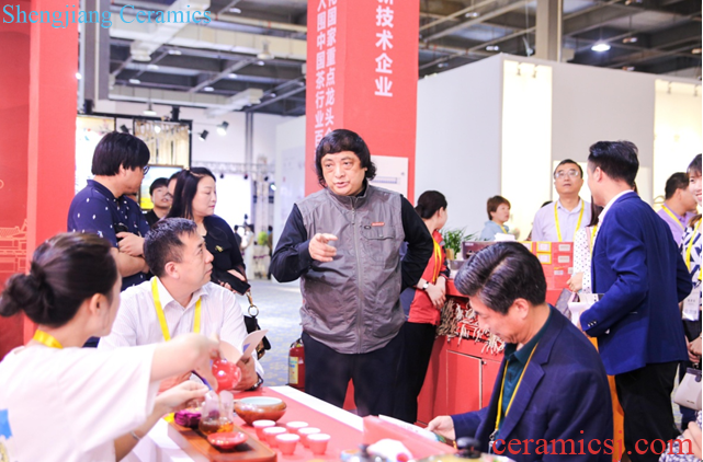 China (Jingdezhen) International Tea Industry Exhibition and Tea Packaging Design Exhibition is launched today 20190501