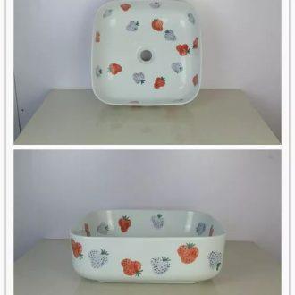 shengjiang new art jingdezhen Traditional manual wash basin bathroom accessory items 201903