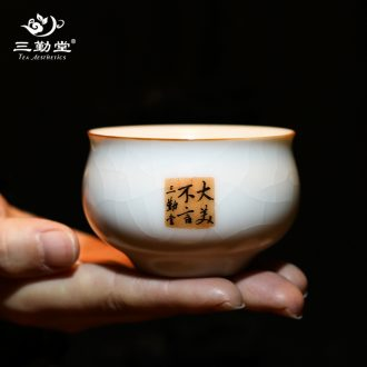 Your kiln hand grasp three frequently hall pot of jingdezhen ceramic tea set on the teapot S24020 can raise from the single pot