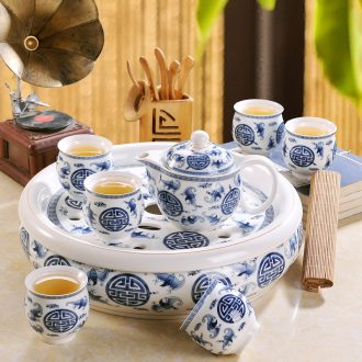 , the dishes suit household contracted bone porcelain tableware kitchen dishes Chinese style tableware ceramic bowl chopsticks combination