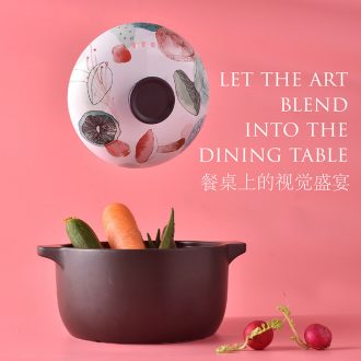 The dishes suit household bone porcelain tableware suit dishes European contracted jingdezhen ceramics 56 head gift bowl