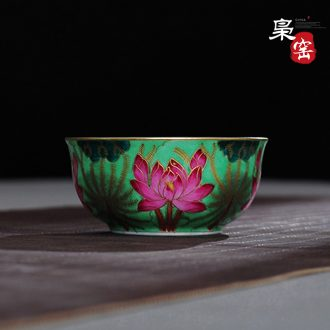 The single matching of the tea sets the cup, single no delivery! Jingdezhen ceramic kung fu small tea cups