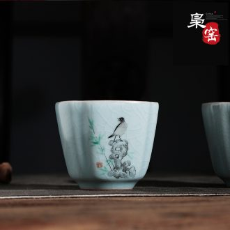 Office of jingdezhen ceramic cup manually relief with cover cup zodiac dog cup tea large meeting