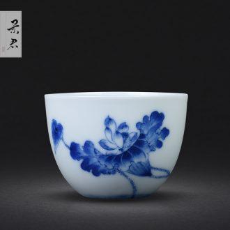 Jingdezhen hand-painted powder enamel vase furnishing articles flower arranging master porcelain ceramic vase sitting room adornment live long and prosper of the reward bottle