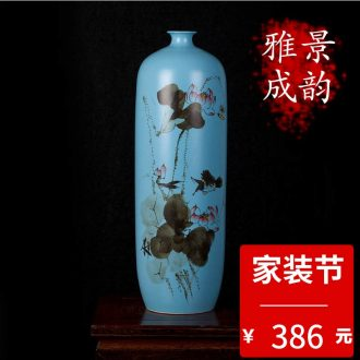 Jingdezhen ceramic pure hand draw the ancient philosophers make spring bottled act the role ofing is tasted furnishing articles home sitting room porch craft porcelain