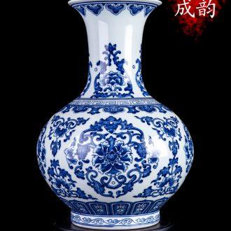 Jingdezhen ceramic large crack open a piece of writing brush washer kung fu suit antique tea wash tank crafts