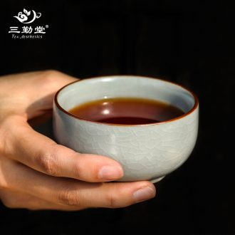 The three frequently your kiln crack cup a pot of two cup The portable travel was suit jingdezhen ceramic tea set filter
