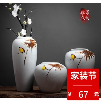Jingdezhen ceramic Chinese vase furnishing articles furnishing articles household supplies creative table sitting room adornment is placed