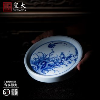 Holy big ceramic pot bearing antique hand-painted porcelain YunFeng dry tea all hand jingdezhen tea tea ceremony with zero