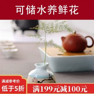 Drink the tea ceremony to ceramic work station hand-painted guest-greeting pine tea tray bearing small pot a pot of tea Chinese tea accessories
