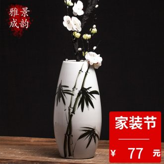 Jingdezhen ceramic large suit archaize classical writing brush washer home decoration room sitting room place basin