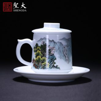 St the ceramic kung fu tea master cup hand-painted character sample tea cup all hand to jingdezhen tea cup