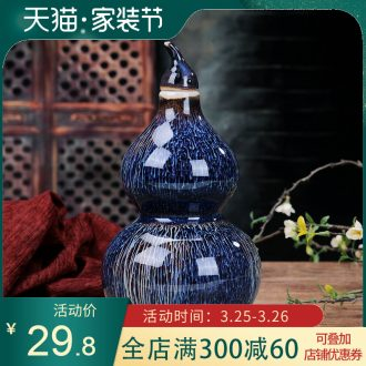 Empty bottle seven pounds blue and white porcelain bottle 7 kg sealed jars empty wine bottles long hip savings