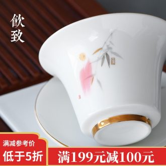 Drink to the secret glazed pot of bearing dry plate water tea tray with Japanese ceramic small tea table contracted tea tray