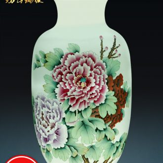 Jingdezhen ceramic vases, flower arranging hand-painted pastel enjoy sitting room place of new Chinese style household ornaments