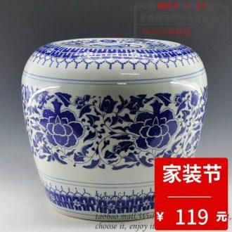 Jingdezhen ceramic modern writing brush washer brush four treasures writing brush washer water shallow writing brush washer celadon is large