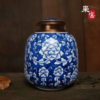 Owl kiln jingdezhen hand-painted teacup chenghua individual fights colorful tea cup handmade ceramic, bamboo lotus simple but elegant small cup