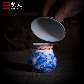 St the teacups hand-painted ceramic kungfu enamel water master cup sample tea cup all hand jingdezhen tea cup