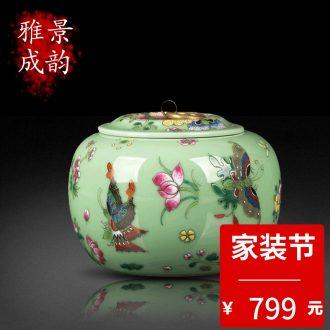 Jingdezhen ceramics art of Chinese interior landscape aquarium accessories in the sitting room feng shui creative furnishing articles