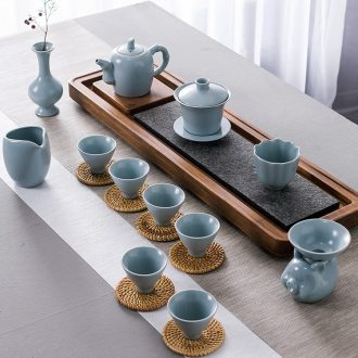 The dishes suit household jingdezhen ceramic bone China tableware suit contracted creative Korean rice bowl chopsticks dishes ceramics