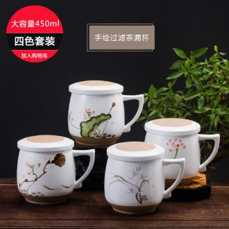 The dishes suit European high-grade 60 phnom penh skull porcelain bowl of household of jingdezhen ceramics tableware spoon combination of plates