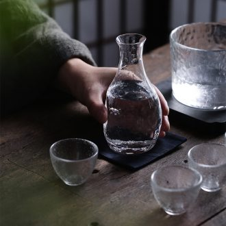 Jingdezhen ceramic temperature wine pot is very hot hip flask glass antique Chinese kung fu tea cup rice wine liquor cup