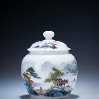 Santa teacups hand-painted ceramic kung fu ji blue glaze colored enamel paint flowers of jingdezhen tea service manual sample tea cup