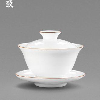 Drink to xi deer white porcelain ceramic creative tea strainer) tea filters make tea tea accessories furnishing articles artifact