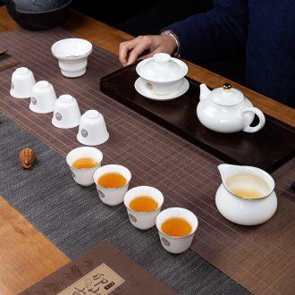 Jingdezhen ceramic tea pot seal POTS trumpet tea urn tea, green tea in the tea pot storage tanks